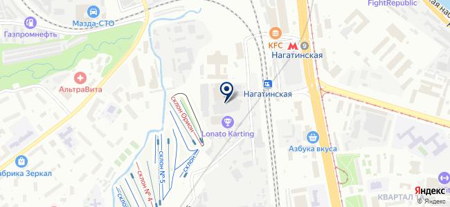 Токс на карте