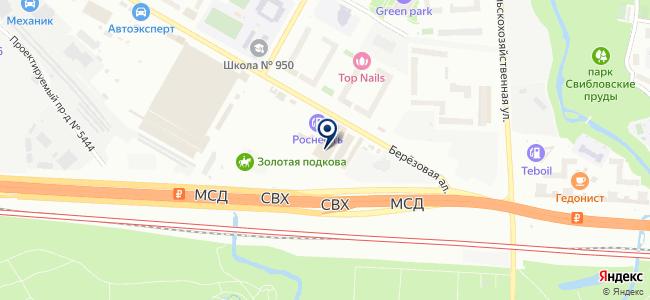Октава+ на карте