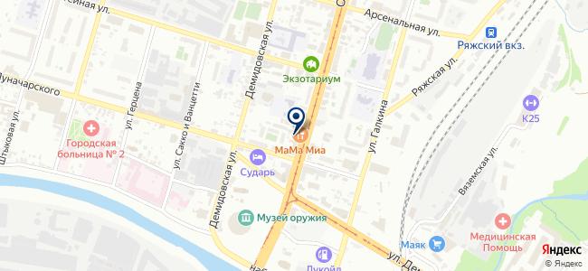 Прораб-71, ООО на карте