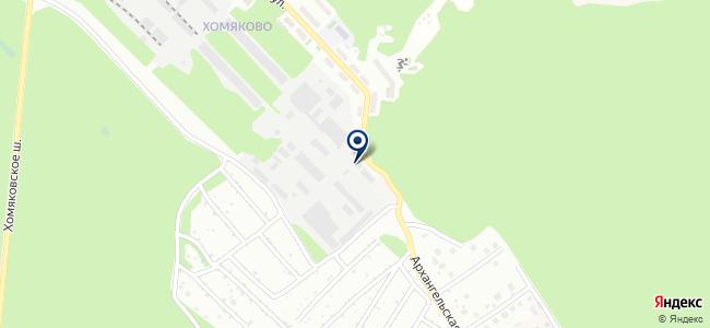 Тульский завод промышленной арматуры, ООО на карте