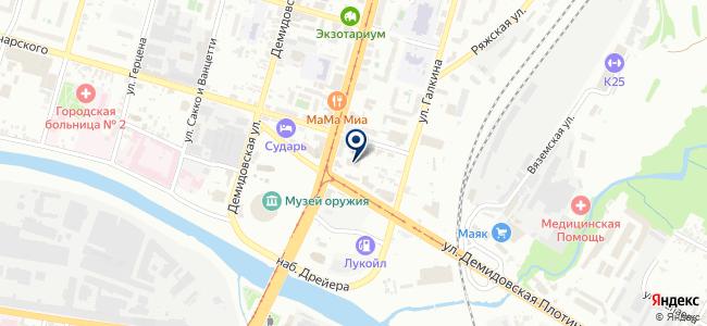 Монтаж-сервис Тула на карте