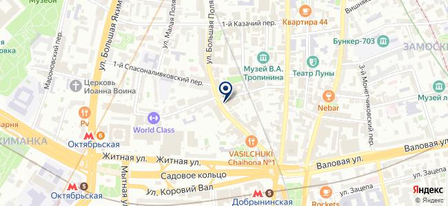 Мосоргстрой, ОАО на карте