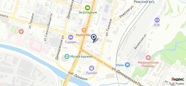 Электроника на карте