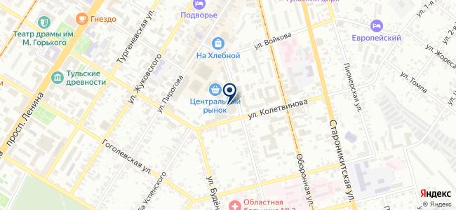 Магазин электротоваров и мелкой бытовой техники на Хлебной площади, 8а на карте