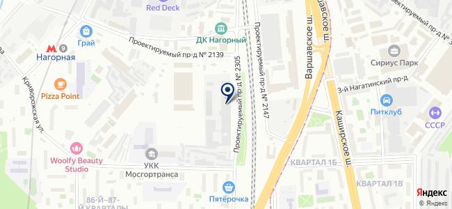 Интер Электро на карте