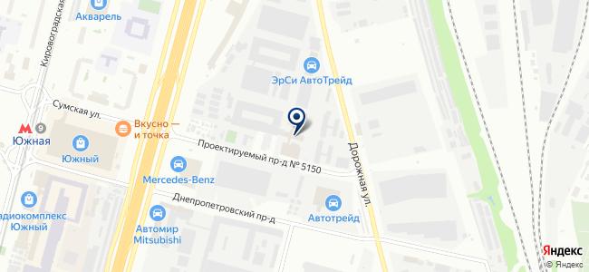 Антриб на карте