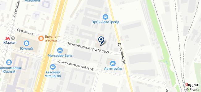 РусГазАвтоматика, ООО на карте