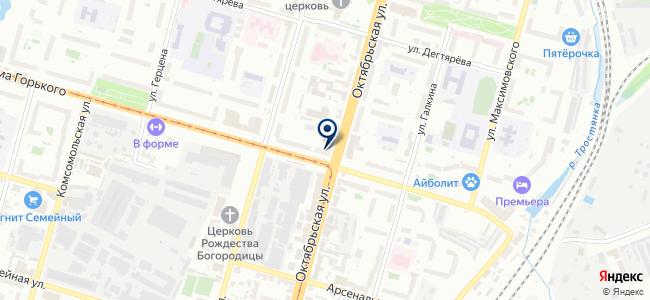 Магазин сантехники и электроинструментов на карте