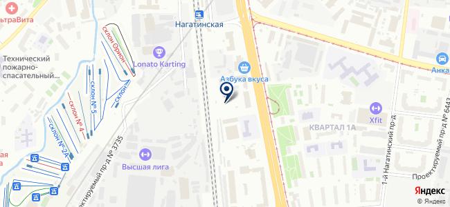 Строй-фундамент на карте