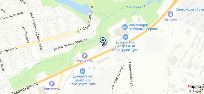 Техресурс, ООО на карте
