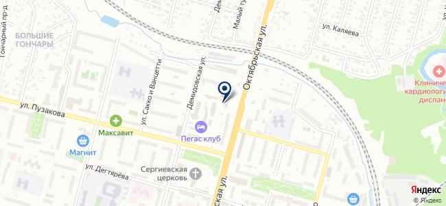 Тэм, ООО на карте