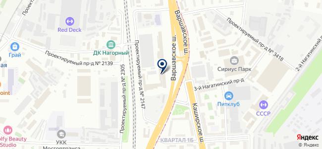 Интеркомпанентс на карте