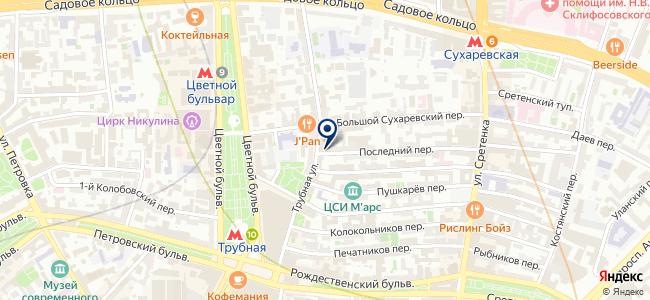 Names на карте