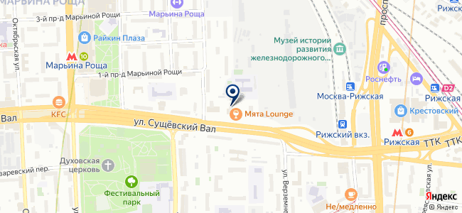 Cezon.ru на карте
