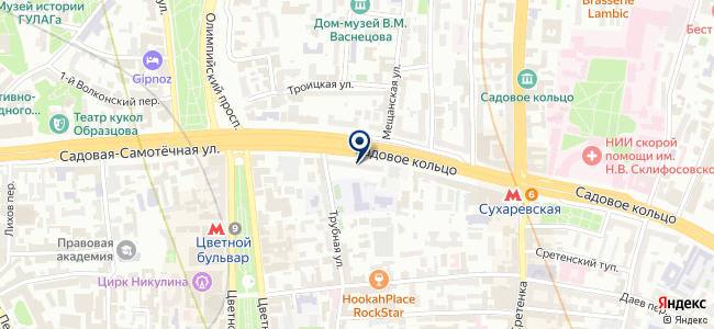 РУБЕЖ-92 на карте