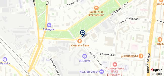 Стилсервис, ЗАО на карте