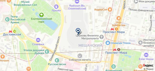 Электрошик на карте