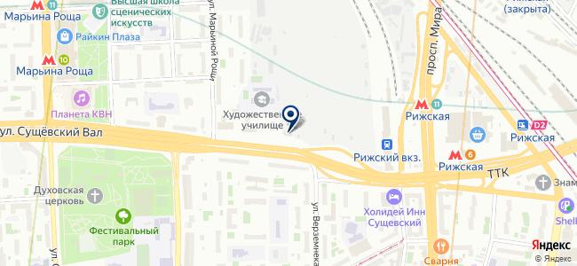 Control Unit на карте