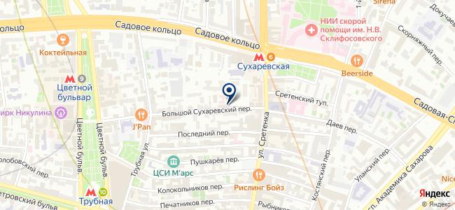 ОЭнТ на карте