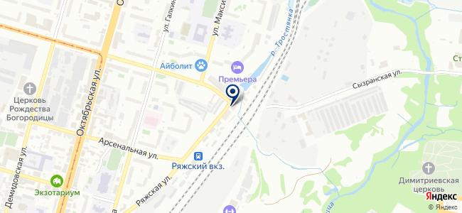 ПрайдМебель на карте