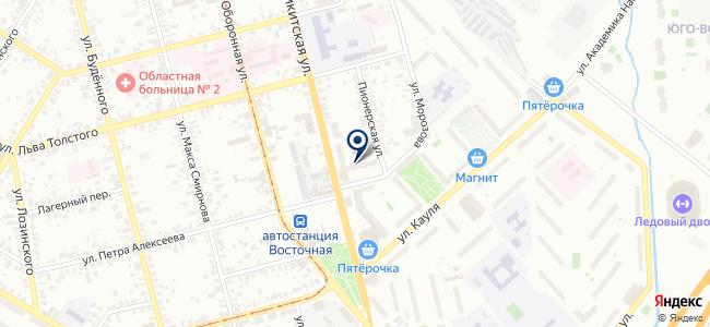 Техэнерго-Прогресс на карте