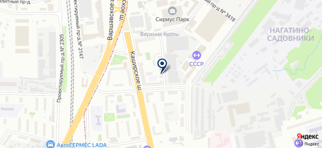 ЕС Электрик на карте