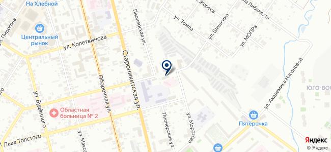 Центр инжекторных автомобилей на карте