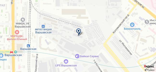 Форс-Мастер на карте