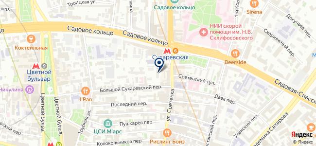 Магазин полезных товаров на карте