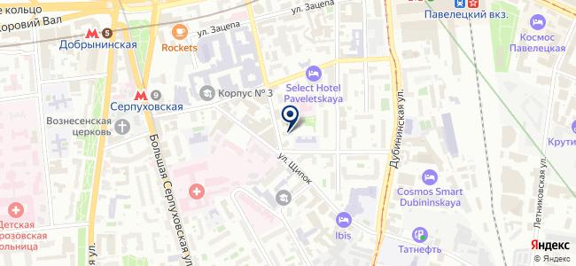 Тэсто Рус, ООО на карте