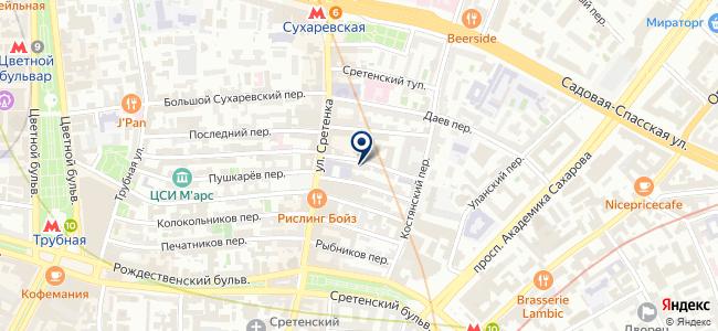 Подводтрубопроводстрой, ООО на карте