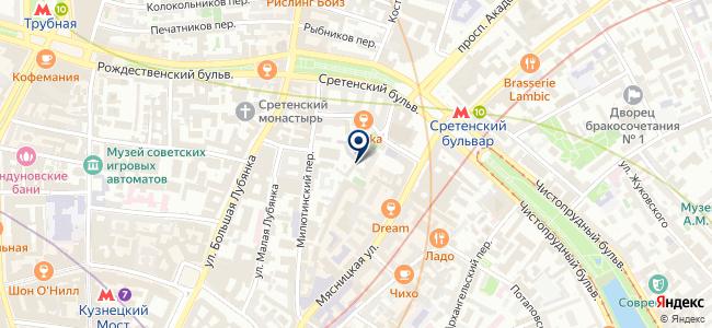 ПромИнжСтрой, ООО на карте