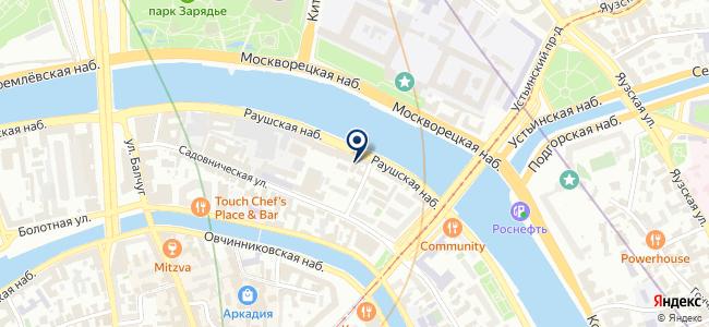 Центральная автобусная диспетчерская на карте