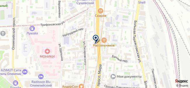 Ovax на карте