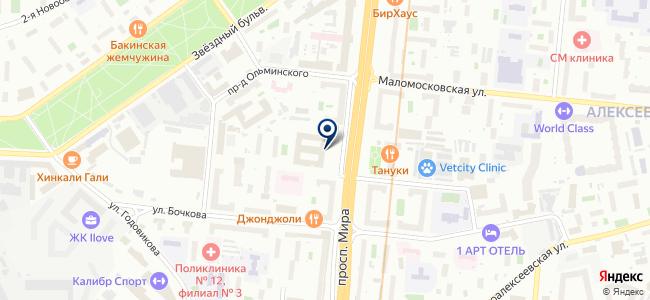212 УНР, ЗАО на карте