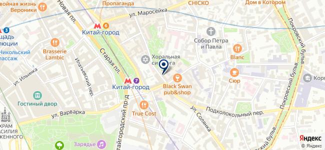 Инициатива, ООО на карте