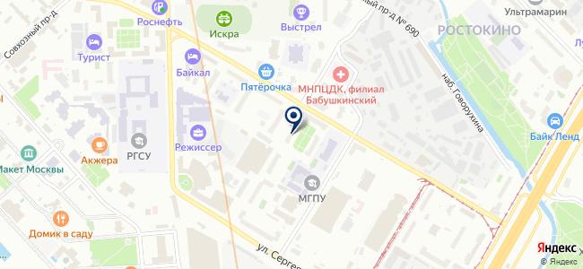 Mir220v.ru на карте