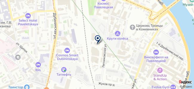 Emerson на карте