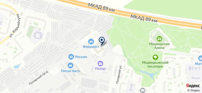 Интера Лайтинг на карте
