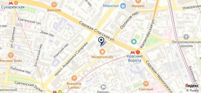 Подий на карте