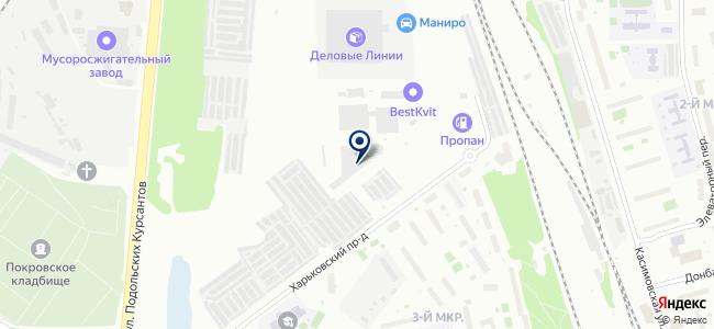 Управление кабельных сетей МКС, ОАО на карте