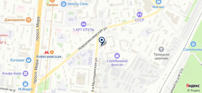 Урсус, ООО на карте