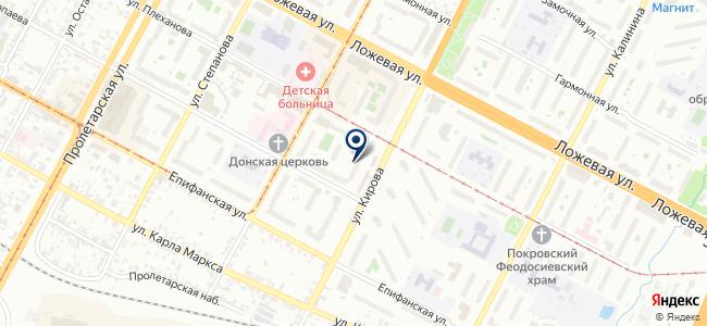 Техэнерго, ЗАО на карте