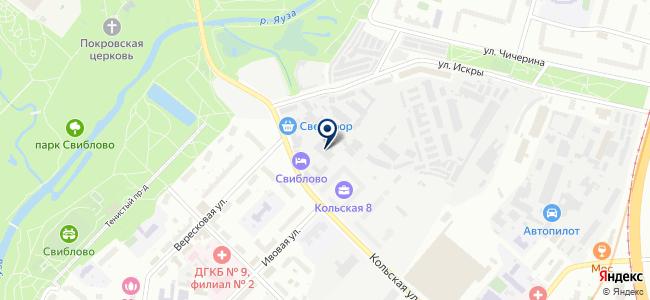Информика, ООО на карте