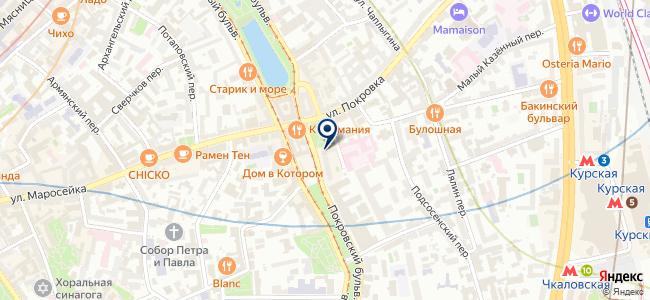 Фирма Тритон, ООО на карте