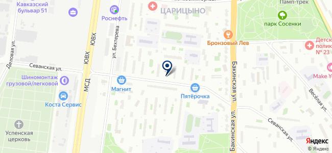 ФЛАЙТ на карте