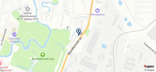 EuroMotors на карте
