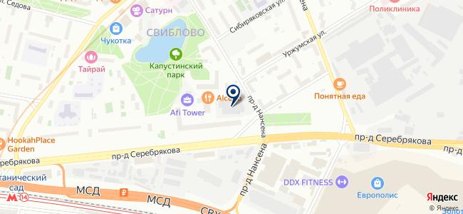 ТРИА Комплекс инженерных систем на карте