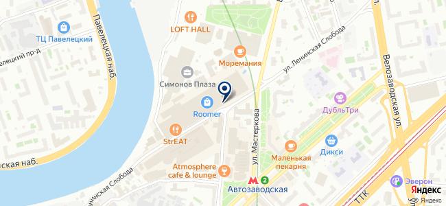 НАО-ПРО на карте