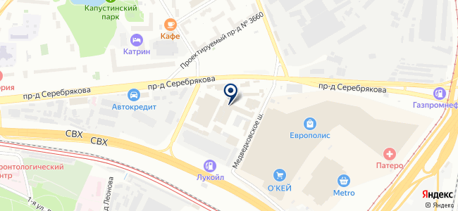 ТД ИНТЕССО, ООО на карте